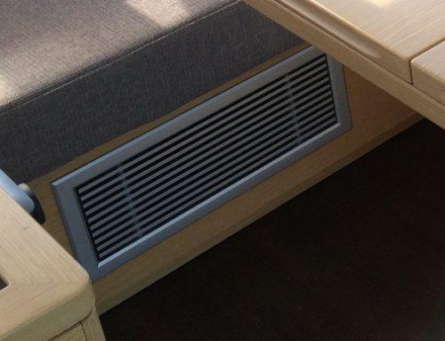 Air Condition: Individuell für jede Kabine plus Saloon, extrem leise durch Invertortechnik